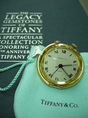 TIFFANY 蒂芙尼 稀有k金/f.多用途鬧鈴手上鍊珍藏錶 品相極完整美