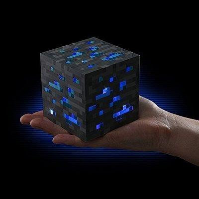 【Sunny Buy】◎現貨◎ Minecraft 麥塊 當個創世神 立體方形 鑽石原礦夜光燈 小夜燈