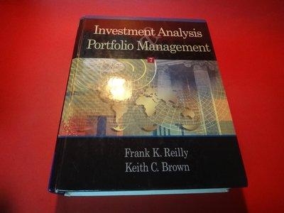 【愛悅二手書坊 10-24】Investment Analysis and Portfolio Management