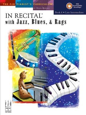 【599免運費】In Recital with Jazz, Blues, and Rags, Book 6 F1744