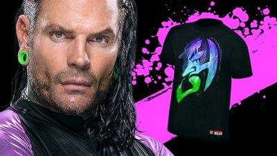 ☆阿Su倉庫☆WWE摔角 Jeff Hardy Immune to Fear T-Shirt 無所畏懼最新款 特價熱賣中