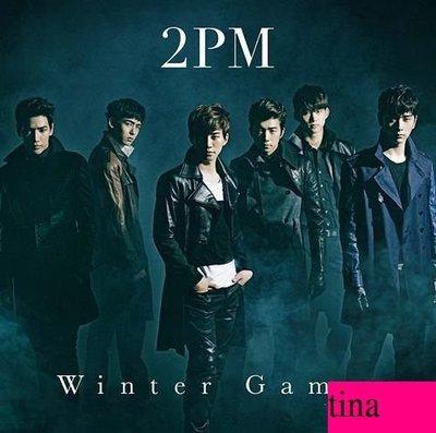 2PM 日文單曲 Winter Games 日本初回限定版B贈小卡&加收Bonus Track全新未拆下標即售