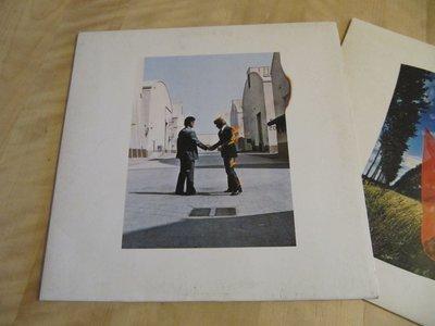 西洋黑膠唱片《 Pink Floyd - Wish You Were Here 》德版、發行於歐洲地區
