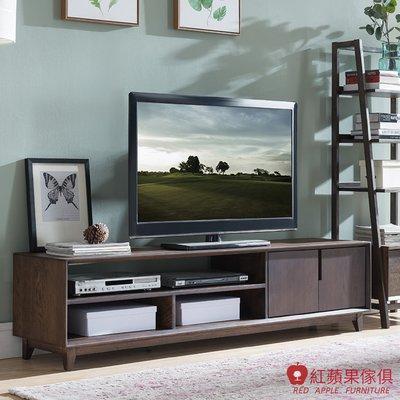 [紅蘋果傢俱]JM005 電視櫃 北歐風電視櫃 日式電視櫃 實木電視櫃 無印風 簡約風