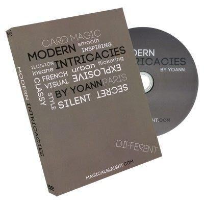 【意凡魔術小舖】美國原廠DVD ~ Modern Intricacies by Yoann~現代牌術