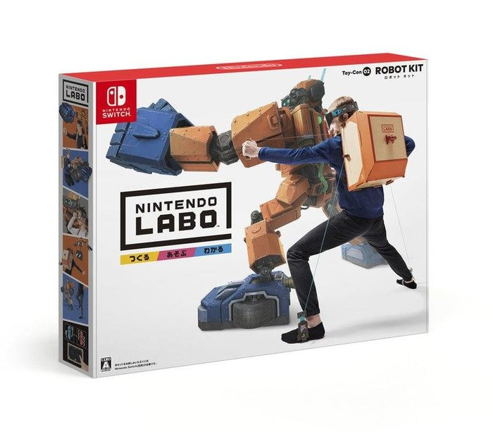 御玩家現貨可超取 NS Labo Toy-Con02 ROBOT KIT [NS20049]