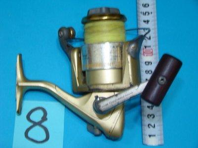 * 采潔 釣具    SHIMANO 4000 型    二手釣具 二手釣竿 中  古捲線器 中古 二手 編號 G 8