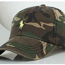 Melia 米莉亞代購 美國店面+網購 Ralph Lauren Polo 迷彩 小馬 金標 老帽 棒球帽 帽子 紅馬標