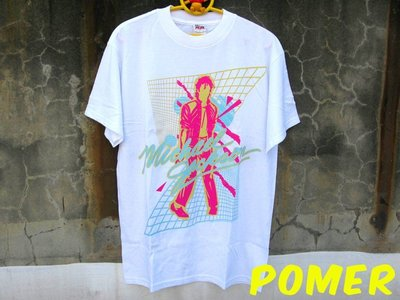 ☆POMER☆美國ALSTYLE正品已絕版Michael Jackson 麥可傑克森 桃紅Beat It 限量紀念款T恤
