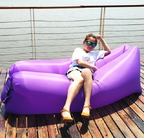 [現貨] 方頭款充氣懶人沙發 充氣床 懶人沙發 沙發床 懶人床 戶外躺椅 睡袋 充氣船  戶外野餐海邊休閒用品
