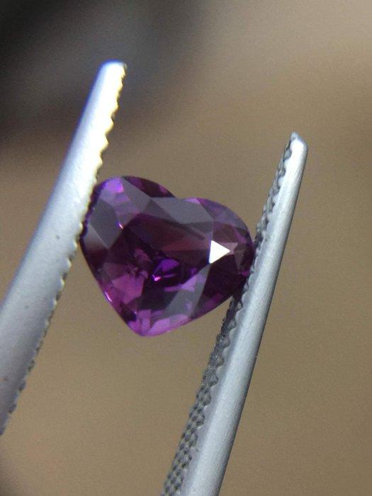 1.56 克拉無燒錫蘭紫色藍寶石含國際證 [藍寶迷的家]