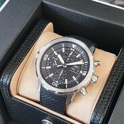IWC 萬國錶 海洋時計系列 IW376803 不鏽鋼材質 計時44mm 未配戴 FB搜尋 個人藏錶