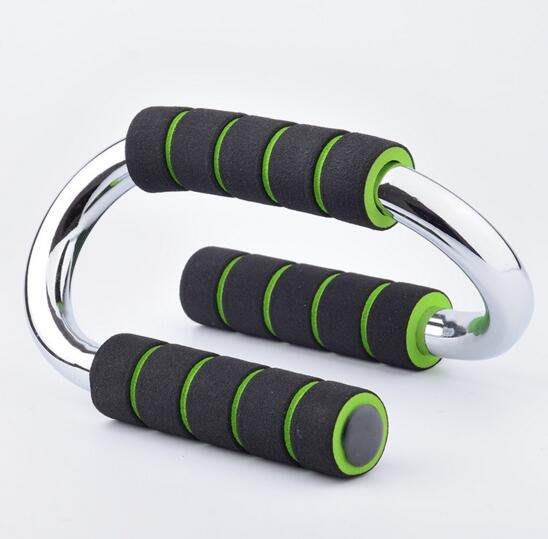 S型電鍍俯臥撐 室內健身器材 N型伏地挺身器 伏地架/擴胸/二頭肌 胸肌訓練器家用品#6490