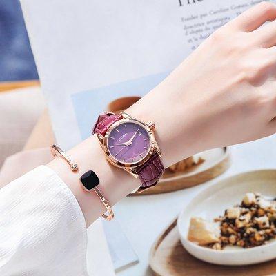 薇安手錶集市~GUOU正品手錶女簡約氣質時尚百搭大氣防水日歷ins風女士手錶