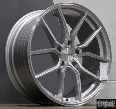 全新 高質感 ASGA ARF04 19吋鋁圈 旋壓輕量化 銀 規格齊全 *完工價*
