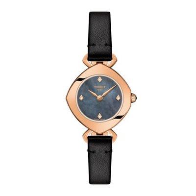 Tissot 天梭伊婷系列皮帶石英女腕錶 T1131093612600