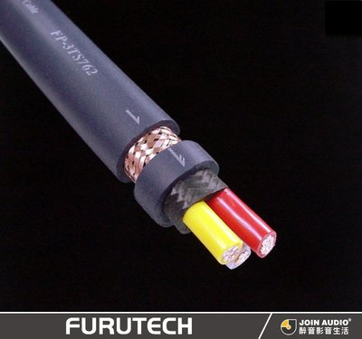 【醉音影音生活】日本古河 Furutech FP-3TS762 1m (切售) 電源線.μ-OFC導體.公司貨.長可訂