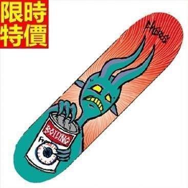滑板 成人公路板戶外用品-潮流彩繪極限運動專業蛇板22款66ah3[獨家進口][米蘭精品]