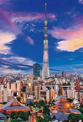 日本進口拼圖專賣店_300片拼圖 風景 東京天空樹 暮光之城 日本 93-147