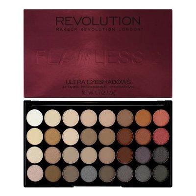美代小舖 現貨 英國Makeup Revolution Flawless 2 Resurrection 32色眼影盤