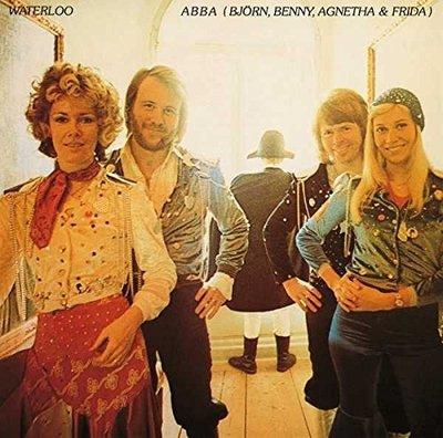 【黑膠唱片LP】滑鐵盧 Waterloo/阿巴合唱團 ABBA---2734648