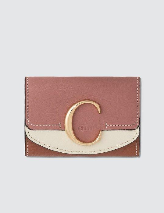 【 代購】Chloe 皮革 短夾 卡夾 零錢包