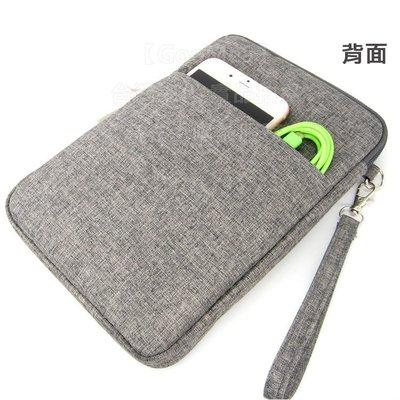 【GooMea】2免運Samsung三星 Tab S2 8.0吋 拉鍊款 亞麻布 手拿袋手機套 手機殼手拿 頸掛灰色
