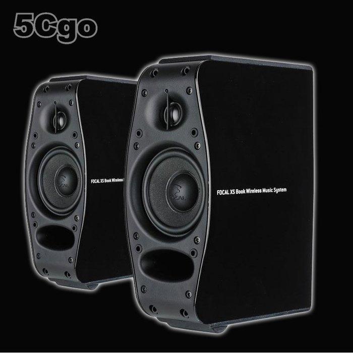 5Cgo【發燒友】法國 Focal 勁浪 XS BOOK 主動式BT音響音箱電腦手機平版MP3 一對 中國公司貨 含稅