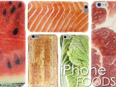 【PH543】日本KUSO食物 iPhone 5 5S SE 6 6S Plus i6 手機殼 保護殼 保護套 手機套
