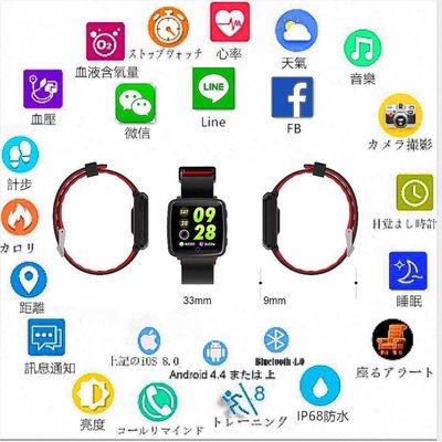 C18✪ 血壓✪ 心率血氧智能手環完勝 小米手環 三星 蘋果 LG  運動可 LINE FB 來電提醒 藍牙 情侶手環