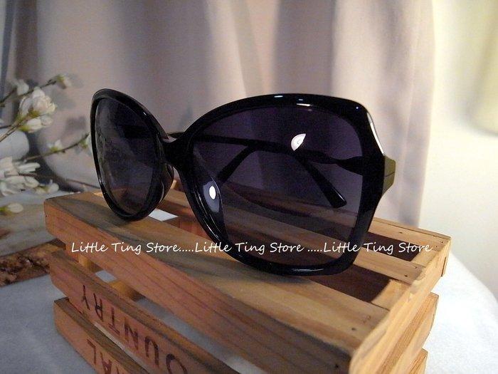 側邊金屬螺旋框鏡架UV400太陽眼鏡偏光眼鏡防風防曬眼鏡 直購380(黑色)