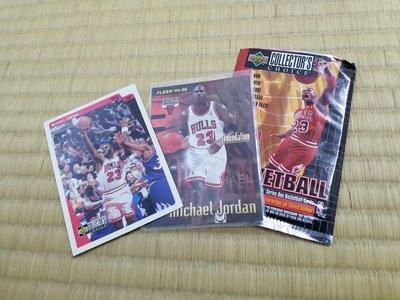 Michael Jordan 喬丹 NBA 球員卡 公牛 一起賣 系列老卡