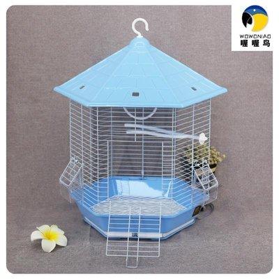 鸚鵡鳥籠 鐵藝鳥籠 金屬鳥籠 大號方鳥籠