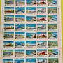 直購價*(256)台灣郵票~民國69年專165[十項建設]郵票~版張2版(10套)~原膠近上~上品