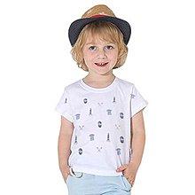 Carefree 童裝 純棉【老人 燈塔】兒童T恤 短袖  夏裝 竹節棉 透氣 吸汗 兒童 夏季