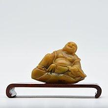 【聽竹軒】 壽山石彌勒佛雕刻像