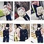 ☆不吃沙西米的貓☆韓國可愛卡通貓咪雙肩後背包日系休閒百搭刺繡書包男女背包(開學優惠背包滿兩件超取含運,請自行修改運費)