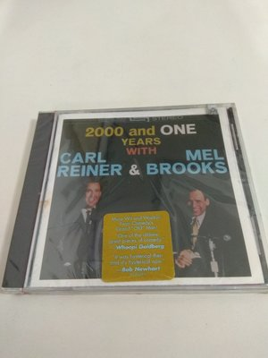 (全新未拆封) 2000 & One Years With Carl Reiner & Mel Brooks (美版)