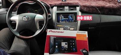 俗很大~先鋒主機Pioneer AVH-Z2250BTCarPlay/DVD觸控螢幕主機-(10.5代ALTIS實裝車)