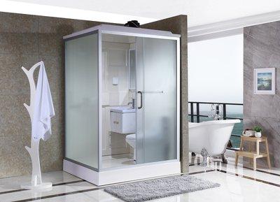 FUO衛浴:140X120公分 免防水工程 雅房變套房 正開門整體式衛生間(不含馬桶) WX910預訂!