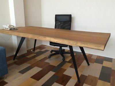 【緬甸柚木-TKWOOD】客製化鐵腳/桌腳/椅腳 - 八造型