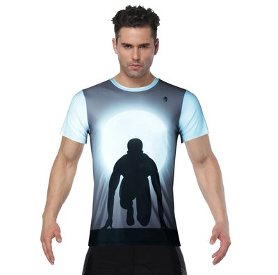 XL現貨【ILPALADINO】跑步健身短袖運動T恤 :: 跑步人