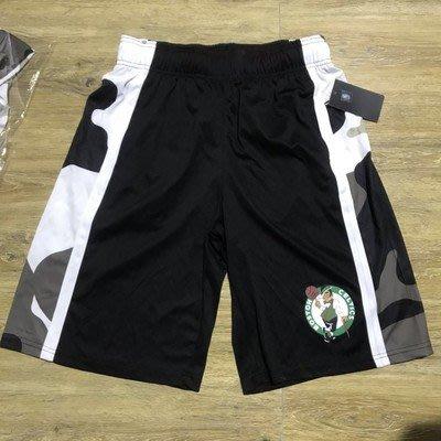 NBA籃球短褲 波士頓塞爾提克隊 KEMBA WALKER 口袋版 籃球褲 黑色 正版