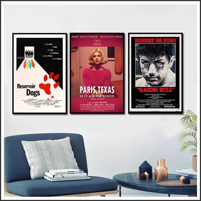 霸道橫行 蠻牛 巴黎 德州 Paris Texas 電影海報 藝術微噴 掛畫 嵌框畫 @Movie PoP 多款海報 #