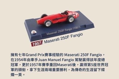 7-11 MASERATI Boomerang 瑪莎拉蒂 1:60 模型車 單售1957年