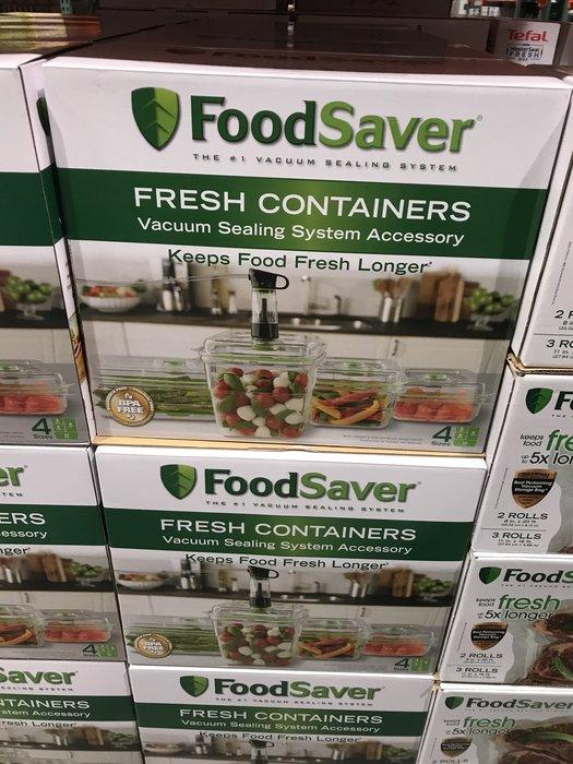 (1860元)COSTCO好市多代購FoodSaver真空密鮮盒8件組