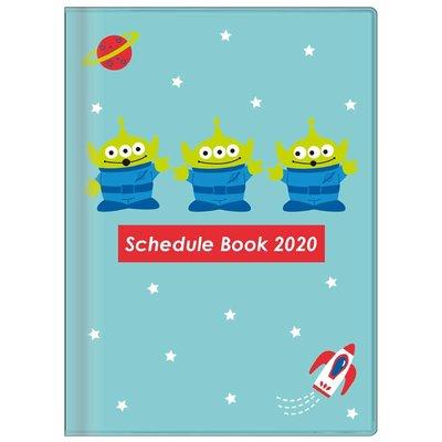 迪士尼DISNEY《現貨7折》玩具總動員三眼怪2020行事曆/記事本/手帳 A6月計畫~日本製~心心