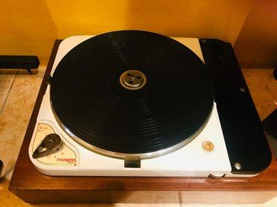 365唱片行 經典 Thorens TD 124 原版黑膠唱盤