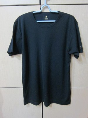 衣市藍~Champion double DRY 短袖排汗T (L~黑~七成新~) (200409) 桃園市