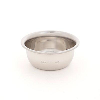 英國 Grand Manner 小紳士帽 鬍碗 / 鬍皂碗(銀 / Shaving Bowl)
